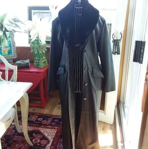 Danier Leather long winter coat